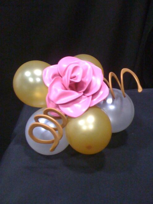 Centro rosa wire